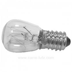 Ampoule E17 15W 240V de four à micro ondes, reference 232107