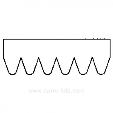 Courroie plate 1854 J3 de sèche linge Ariston Indesit C00600039 , reference 126208
