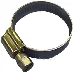 Collier de serrage inox 32 à 52 mmAcier inox AISI 201 , reference 551056