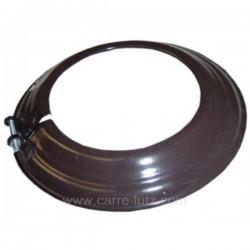 Rosace émaillé marron diamètre 125 mm, reference 705926