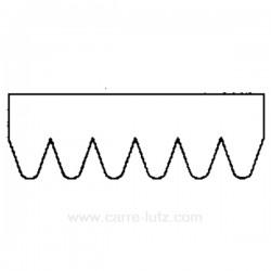 Courroie plate 1780 J4 ou 1782 J4 de sèche linge A.Martin Electrolux 6819820991 , reference 726062