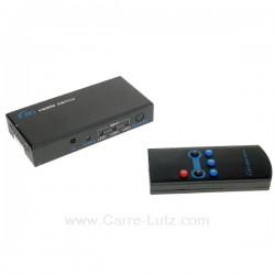 Commutateur HDMI 3 entrées 1 sortie, reference 771696