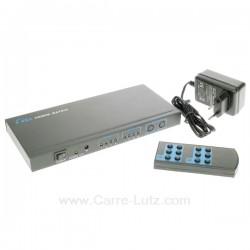 Commutateur HDMI 4 entrées 2 sorties, reference 771697