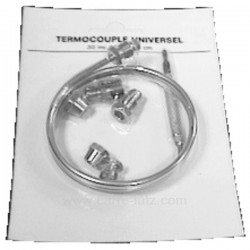 Thermocouple universel T60 longueur 1,2 mt, reference 796002