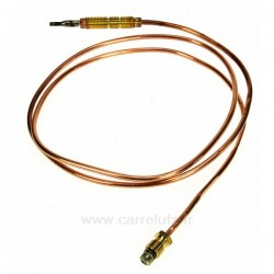 Thermocouple de table de cuisson 1000 mm Ariston Indesit Scholtes C00078735 , reference 796009