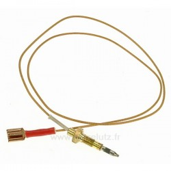 Thermocouple de table de cuisson 680 mm Ariston Indesit Scholtes C00139479 , reference 796012