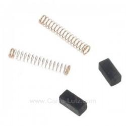 CHARBON MOTEUR 5X5X10.5 x2 Composants pour electromenager 801012, reference 801012