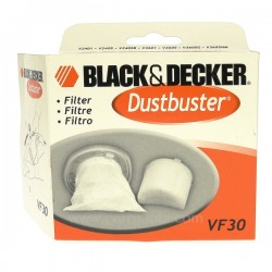 Filtre d'aspirateur VF30 Black&Decker, reference 802455