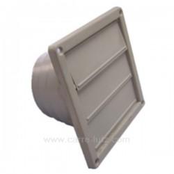 Clapet 3 volets gris à encastrer, reference 804015