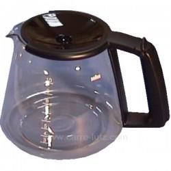 Verseuse de cafetière électrique Braun aroma select, reference 850095