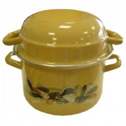 MARMITE MOULES FRITES BEIGE Batterie de cuisine diverse 991IB030, reference 991IB030