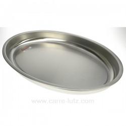 PLAT FOUR INOX 45X29X5 La cuisine 991IB050, reference 991IB050