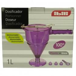 Doseur automatique 1 litre 3 douilles pour remplir les moules à patisserie, reference 991IB506