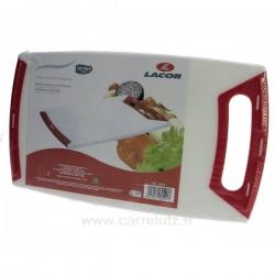 Planche à découper polyéthyléne 30x18 Lacor La cuisine 991LC60501, reference 991LC60501