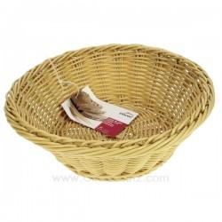 Corbeille à pain ronde en polypropyléne Lacor 63473, reference 991LC63473