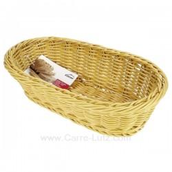 Corbeille à pain ovale en polypropyléne Lacor 63482, reference 991LC63482
