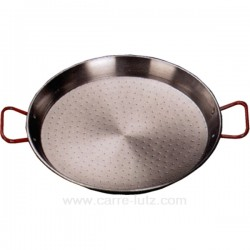 PLAT A PAELLE TOLE ACIER 42 CM Batterie de cuisine 991LC63643, reference 991LC63643