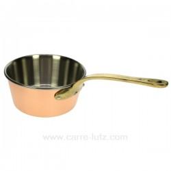 Casserole conique cuivre 18 CM Batterie de cuisine 991LC69218, reference 991LC69218