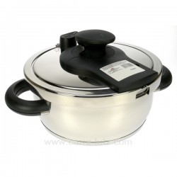 Autocuiseur Inox 6 Litres Lacor 71860, reference 991LC71860