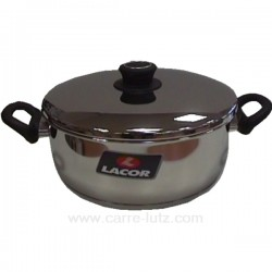 FAITOUT AVEC COUVERCLE D24 Batterie de cuisine 991LC85024, reference 991LC85024