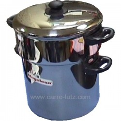 COUSCOUSSIER 10 LT 24/26 Batterie de cuisine diverse 991MG135, reference 991MG135