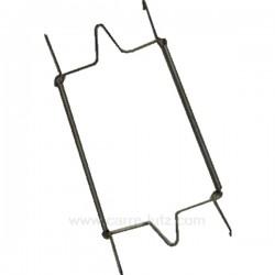 Crochet de suspension pour assiette de diamètre 25 à 35 cm, reference 992IB022