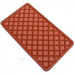 Semelle silicone repose fer à repasser 135x235 mm, reference 996152