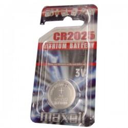 1 PILE 3V CR2025 Accessoires 997018, reference 997018