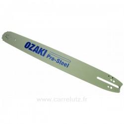Guide de chaine OZAKI ZKT50 PAS 3/8 JAUGE 1,5 LONGUEUR 50 CM , reference 9987810
