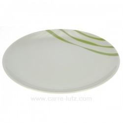 assiette dessert Luna Swing Porcelaine Bruno Evrard CL10010502, reference CL10010502