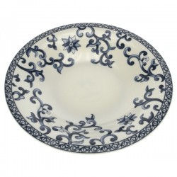 assiette creuse Anya Porcelaine Bruno Evrard CL10010901, reference CL10010901