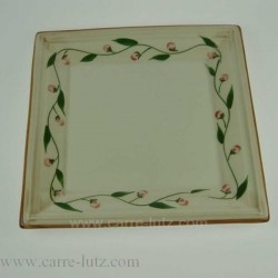 ASSIETTE CARReE 31 CM Porcelaine de table CL10020006, reference CL10020006