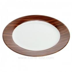 Assiette plate Karma Porcelaine Ritzenhoff et breker CL10020617, reference CL10020617