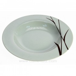 Assiette creuse Karma Porcelaine Ritzenhoff et breker CL10020618, reference CL10020618