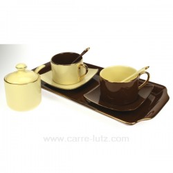 coffret duo choco/creme Arts de la table CL10030135, reference CL10030135