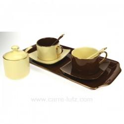 coffret duo choco/creme Arts de la table CL10030135, reference CL10030135