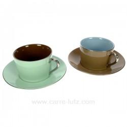 coffret 2 dejeuner Arts de la table CL10030139, reference CL10030139