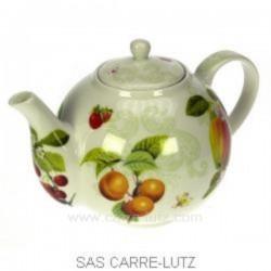 Coffret theiere fruits Arts de la table CL10030210, reference CL10030210