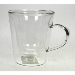 Tasse expresso par 2 en verre Arts de la table CL10030215, reference CL10030215