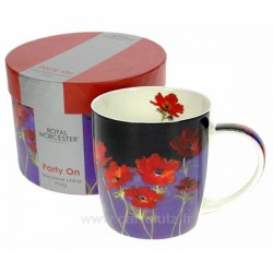 Coffret 1 mug Party on Royal Worcester, reference CL10030297
