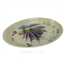 Coffret 1 vide poche ovale Provence en Faience de Gien, reference CL10069410