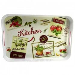 Plateau mélamine décor vintage kitchen, reference CL11020129