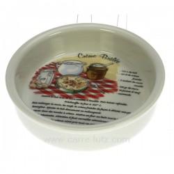 Moule a creme brulee recette Arts de la table CL12002003, reference CL12002003