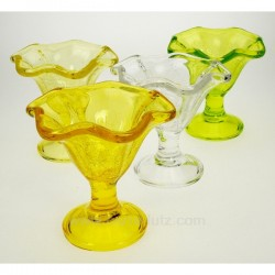 Coupe a glace acryl par 4 Arts de la table CL12002009, reference CL12002009