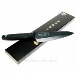 Couteau cuisine ceramique noire 16 cm La cuisine CL14006055, reference CL14006055