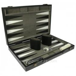 Jeu de Backgammon en étuit simili cuir, reference CL20000013