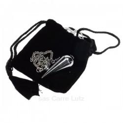 Pendule livré avec petite pochette en velour noir, reference CL20002000