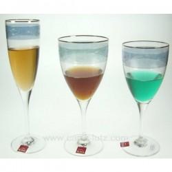 VERRE a EAU Service de verre CL20010051, reference CL20010051