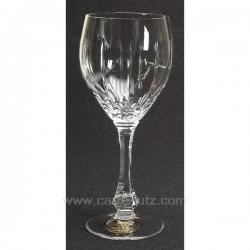 Verre a eau Solange par 6 Service de verre CL20010101, reference CL20010101