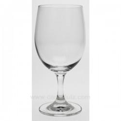 Verre a eau Convention x 6 Service de verre CL20010131, reference CL20010131
